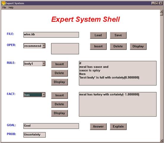 Igcse Ict Expert Systems